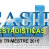 Estadisticas CASIP III Trimestre 2015