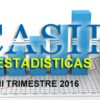 Estadisticas CASIP II Trimestre 2016